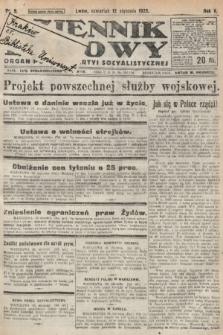 Dziennik Ludowy : organ Polskiej Partyi Socyalistycznej. 1922, nr9