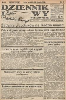 Dziennik Ludowy : organ Polskiej Partyi Socyalistycznej. 1922, nr18
