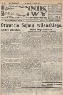 Dziennik Ludowy : organ Polskiej Partyi Socyalistycznej. 1922, nr28
