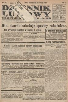 Dziennik Ludowy : organ Polskiej Partyi Socyalistycznej. 1922, nr36