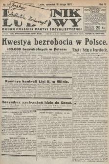Dziennik Ludowy : organ Polskiej Partyi Socyalistycznej. 1922, nr38