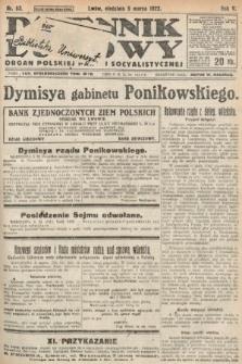 Dziennik Ludowy : organ Polskiej Partyi Socyalistycznej. 1922, nr53