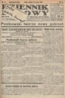 Dziennik Ludowy : organ Polskiej Partyi Socyalistycznej. 1922, nr57