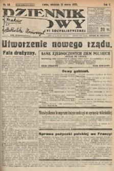 Dziennik Ludowy : organ Polskiej Partyi Socyalistycznej. 1922, nr59