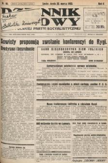 Dziennik Ludowy : organ Polskiej Partyi Socyalistycznej. 1922, nr66