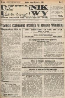 Dziennik Ludowy : organ Polskiej Partyi Socyalistycznej. 1922, nr68