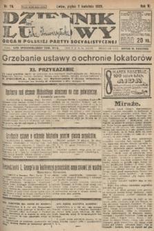 Dziennik Ludowy : organ Polskiej Partyi Socyalistycznej. 1922, nr78