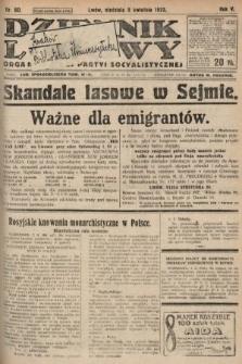 Dziennik Ludowy : organ Polskiej Partyi Socyalistycznej. 1922, nr80