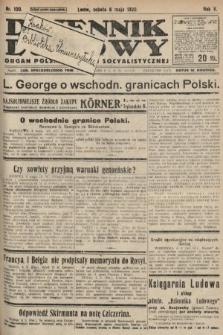 Dziennik Ludowy : organ Polskiej Partyi Socyalistycznej. 1922, nr100