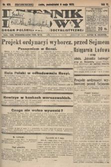 Dziennik Ludowy : organ Polskiej Partyi Socyalistycznej. 1922, nr102
