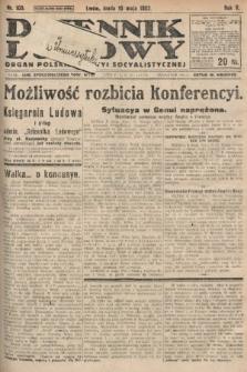 Dziennik Ludowy : organ Polskiej Partyi Socyalistycznej. 1922, nr103