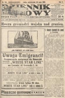 Dziennik Ludowy : organ Polskiej Partyi Socyalistycznej. 1922, nr119