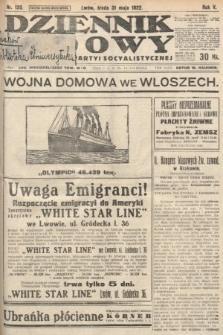 Dziennik Ludowy : organ Polskiej Partyi Socyalistycznej. 1922, nr120