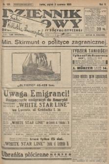 Dziennik Ludowy : organ Polskiej Partyi Socyalistycznej. 1922, nr122