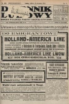 Dziennik Ludowy : organ Polskiej Partyi Socyalistycznej. 1922, nr123