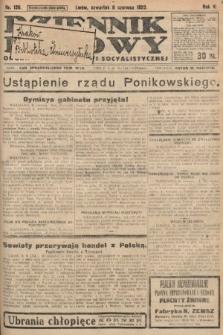 Dziennik Ludowy : organ Polskiej Partyi Socyalistycznej. 1922, nr126