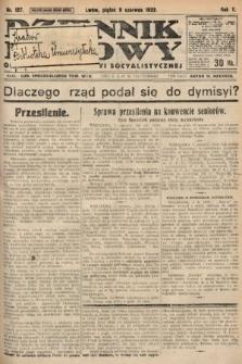 Dziennik Ludowy : organ Polskiej Partyi Socyalistycznej. 1922, nr127