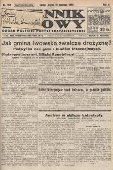Dziennik Ludowy : organ Polskiej Partyi Socyalistycznej. 1922, nr133