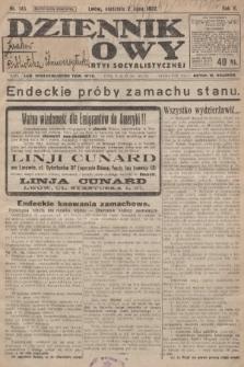 Dziennik Ludowy : organ Polskiej Partyi Socyalistycznej. 1922, nr145
