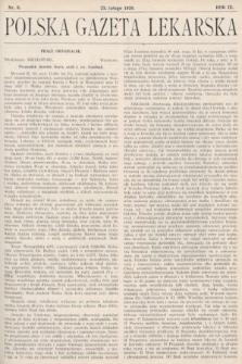 Polska Gazeta Lekarska. 1930, nr8