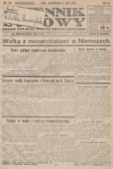 Dziennik Ludowy : organ Polskiej Partyi Socyalistycznej. 1922, nr146