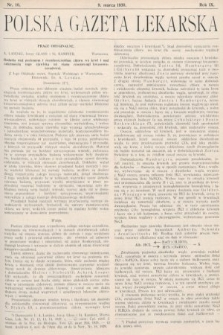 Polska Gazeta Lekarska. 1930, nr10