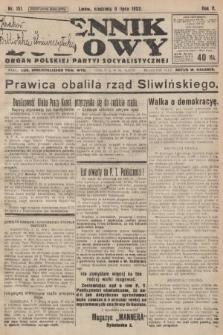 Dziennik Ludowy : organ Polskiej Partyi Socyalistycznej. 1922, nr151