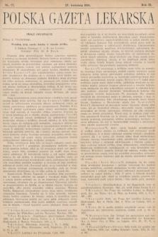 Polska Gazeta Lekarska. 1930, nr17
