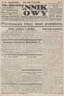 Dziennik Ludowy : organ Polskiej Partyi Socyalistycznej. 1922, nr165