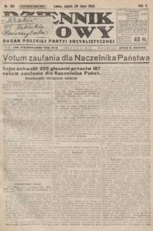 Dziennik Ludowy : organ Polskiej Partyi Socyalistycznej. 1922, nr167