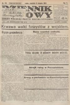 Dziennik Ludowy : organ Polskiej Partyi Socyalistycznej. 1922, nr175