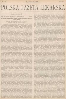 Polska Gazeta Lekarska. 1930, nr40