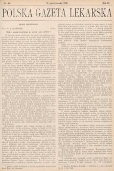 Polska Gazeta Lekarska. 1930, nr41