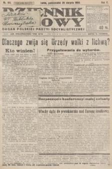 Dziennik Ludowy : organ Polskiej Partyi Socyalistycznej. 1922, nr193
