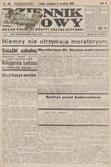 Dziennik Ludowy : organ Polskiej Partyi Socyalistycznej. 1922, nr198