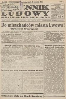 Dziennik Ludowy : organ Polskiej Partyi Socyalistycznej. 1922, nr203