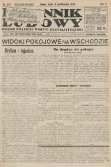 Dziennik Ludowy : organ Polskiej Partyi Socyalistycznej. 1922, nr222