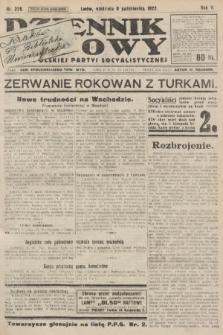 Dziennik Ludowy : organ Polskiej Partyi Socyalistycznej. 1922, nr226