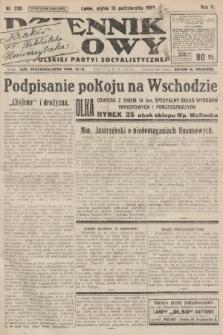 Dziennik Ludowy : organ Polskiej Partyi Socyalistycznej. 1922, nr230