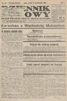 Dziennik Ludowy : organ Polskiej Partyi Socyalistycznej. 1922, nr231