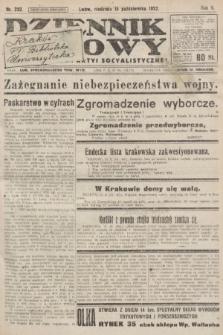 Dziennik Ludowy : organ Polskiej Partyi Socyalistycznej. 1922, nr232