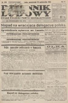 Dziennik Ludowy : organ Polskiej Partyi Socyalistycznej. 1922, nr239