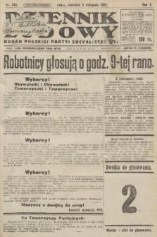 Dziennik Ludowy : organ Polskiej Partyi Socyalistycznej. 1922, nr246
