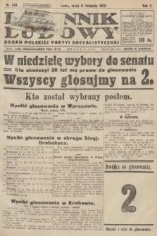 Dziennik Ludowy : organ Polskiej Partyi Socyalistycznej. 1922, nr249