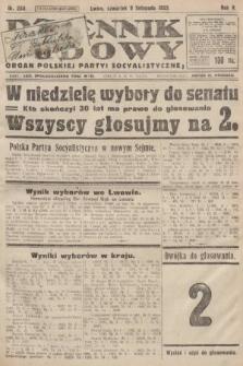 Dziennik Ludowy : organ Polskiej Partyi Socyalistycznej. 1922, nr250