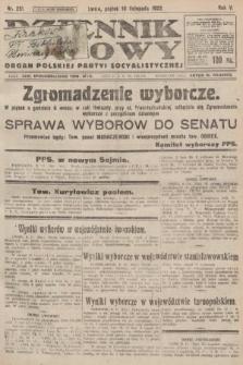 Dziennik Ludowy : organ Polskiej Partyi Socyalistycznej. 1922, nr251
