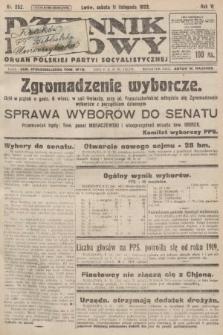 Dziennik Ludowy : organ Polskiej Partyi Socyalistycznej. 1922, nr252