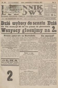 Dziennik Ludowy : organ Polskiej Partyi Socyalistycznej. 1922, nr254
