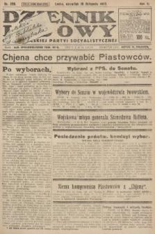 Dziennik Ludowy : organ Polskiej Partyi Socyalistycznej. 1922, nr256