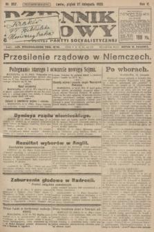 Dziennik Ludowy : organ Polskiej Partyi Socyalistycznej. 1922, nr257